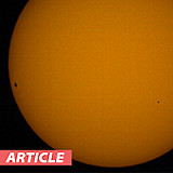 Solar Observing: Recording Sunspots